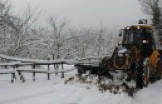 Büyükşehir'den Kar Uyarısı