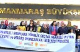 Büyükşehir'den Kursiyerlere Afşin Gezisi
