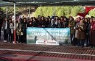 Büyükşehir'in Doğa Yürüyüşünde 1250 Kişi...