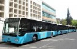 Büyükşehir'in Otobüsleri Ücretsiz
