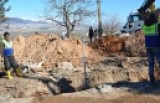 Cüceli Mahallesinin Kanalizasyon Sorunu Bitiyor