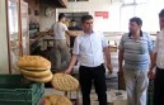 Daire Başkanı Karataş'tan Fırınlara Denetim
