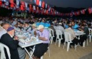 Dulkadiroğlu İftar Sofrası Beşenli'de Kuruldu