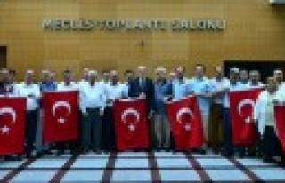 Dulkadiroğlu Meclisi'nden 15 Temmuz Şehit Ve Gazileri...