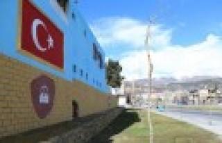 Dulkadiroğlu'ndan Boş Alanlara Görsel Çalışmalar