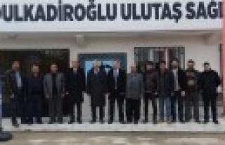 Dulkadiroğlu'ndan Ulutaş'a Sağlık Merkezi