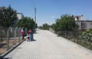 Elbistan'ın Mahallelerine Beton Parke Döşeniyor