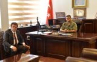 Erkoç'tan Jandarma'ya Ziyaret