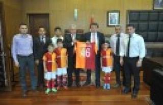 Galatasaray'dan Erkoç'a Ziyaret