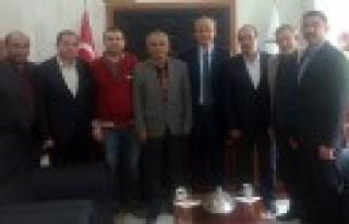 Gemciler Kültür Dayanışma Derneği Başkan Okay'ı...