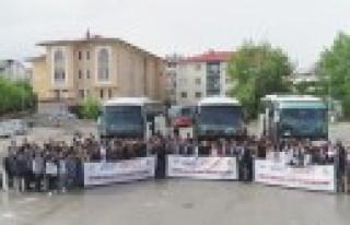 Göksun'lu Öğrenciler Çanakkele Gezisine Gitti