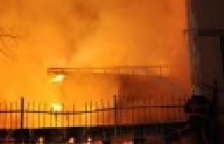 Gözde Sitesi'nde Yangın Paniği