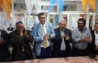 Güvenç Türkoğlu ve Pazarcıkta Seçim Çalışmalarına...