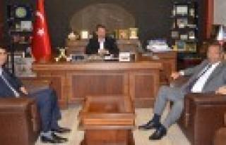 Hanefi Öksüz'den Başkan Okumuş'a Ziyaret