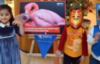 Hayvan Hakları Sergisinde Miniklerden Maskeli Mesaj