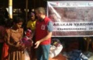 Kahramanmaraş'ın Yardımları Arakan'a Ulaştı...