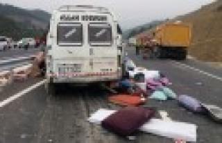 Kahramanmaraş'ta Feci Kaza: 9 Ölü, 7 Yaralı