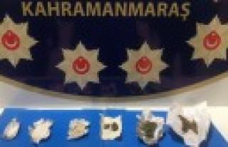 Kahramanmaraş'ta Uyuşturucu Operasyonu: 5 Gözaltı