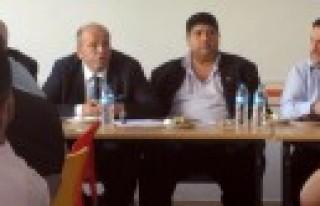 Kantin Esnafı Dernek Başkanları Bölge Toplantısında...