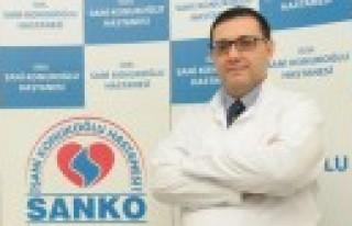 Kardiyoloji Uzmanı Doç. Dr. Mustafa Çetin, SANKO'da...