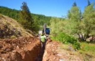 KASKİ'den Mehmetbey'e İçme Suyu Kaynak İlavesi