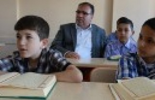 Kaymakam Türköz'den Kuran Kurslarına Ziyaret