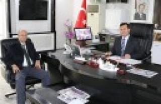 KÇS Genel Müdüründen Pazarcık Belediyesine Ziyaret...