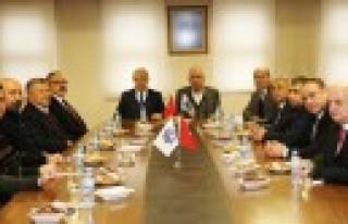 KMTSO Başkanı Zabun, Ticaret Borsası Yönetimi...