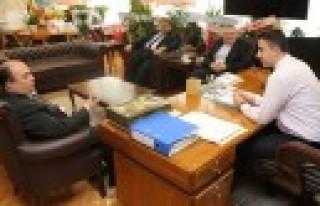 KMTSO'dan DSİ Bölge Müdürüne Ziyaret