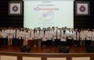 KSÜ'de 14 Mart Tıp Bayramı, Törenle Kutlandı