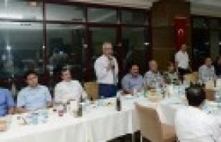 Lise Müdürleri ve Rehber Öğretmenler, KSÜ İftarında...
