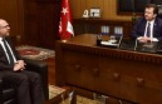 Mali Müşavirlerden Başkan Erkoç'a Ziyaret