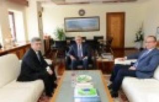 MHP Genel Başkan Yardımcısı Aycan, Rektör Can'ı...