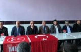 MHP Onikişubat İlçe Başkanı Şeker, Seçim Startını...