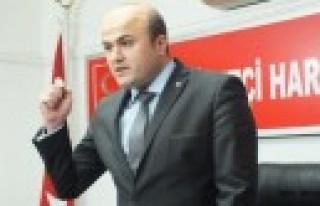 MHP Onikişubat İlçe Başkanlığı Basın Açıklaması