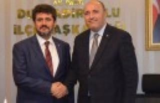 MHP'li Akpınar'dan AK Partili Debgici'ye Ziyaret...