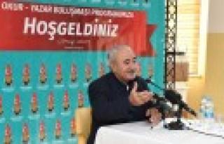 Onikişubat Belediyesi Okur-Yazar Buluşması Etkinliği...