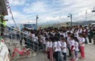 Onikişubat'ta Trafik Ve Bisiklet Kullanımı Eğitimi...