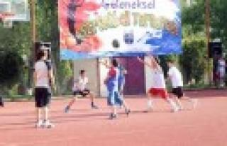 Özel Sanko Okulları Geleneksel Streetball Turnuvası