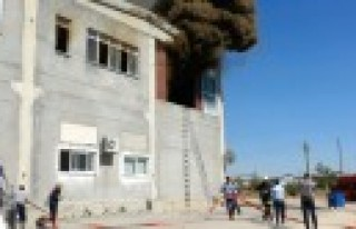 Pamuk Fabrikası Deposunda Yangın