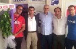Pazarcık Aksu Spor'dan Abacı'ya Ziyaret