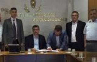 Pazarcık Belediyesi Doğalgaz Protokolü İmzaladı...