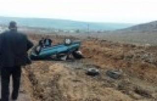 Pazarcık'ta Otomobil Takla Attı: 3 Yaralı
