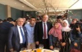 Rektör Can, Gaziantep'te Spark Bursları Ödül...