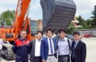 Sanko Makina, Mermer Üreticilerini Ağırladı
