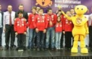SANKO Öğrencileri, First Lego Ligi Bölge Şampiyonu...