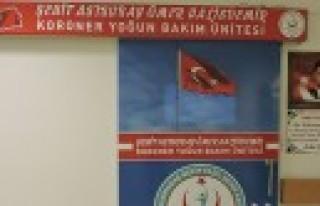 Şehit Ömer Halisdemir'in Adı Yoğun Bakım Ünitesine...