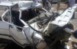 Şekeroba'da Trafik Kazasında Bir Kişi Yaralandı