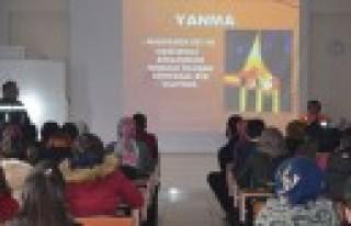 SHMYO'da Afet Bilinci Eğitimi ve Acil Eylem Tatbikatı