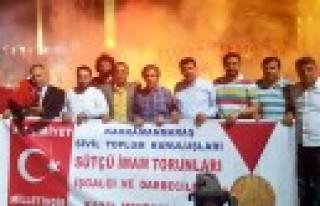 Sütçü İmamın Torunları, Taksim'de Toplandı